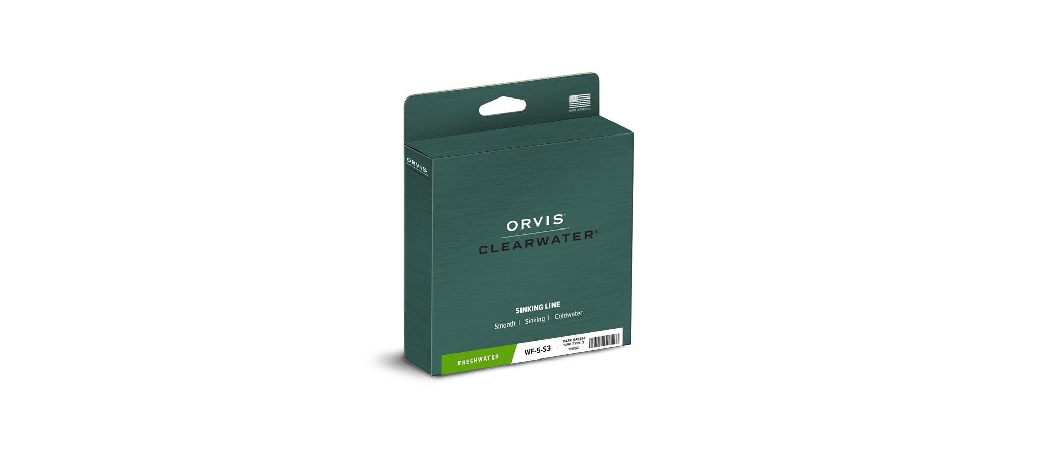 Orvis-Clearwater-Fliegenschnur-Sink-3