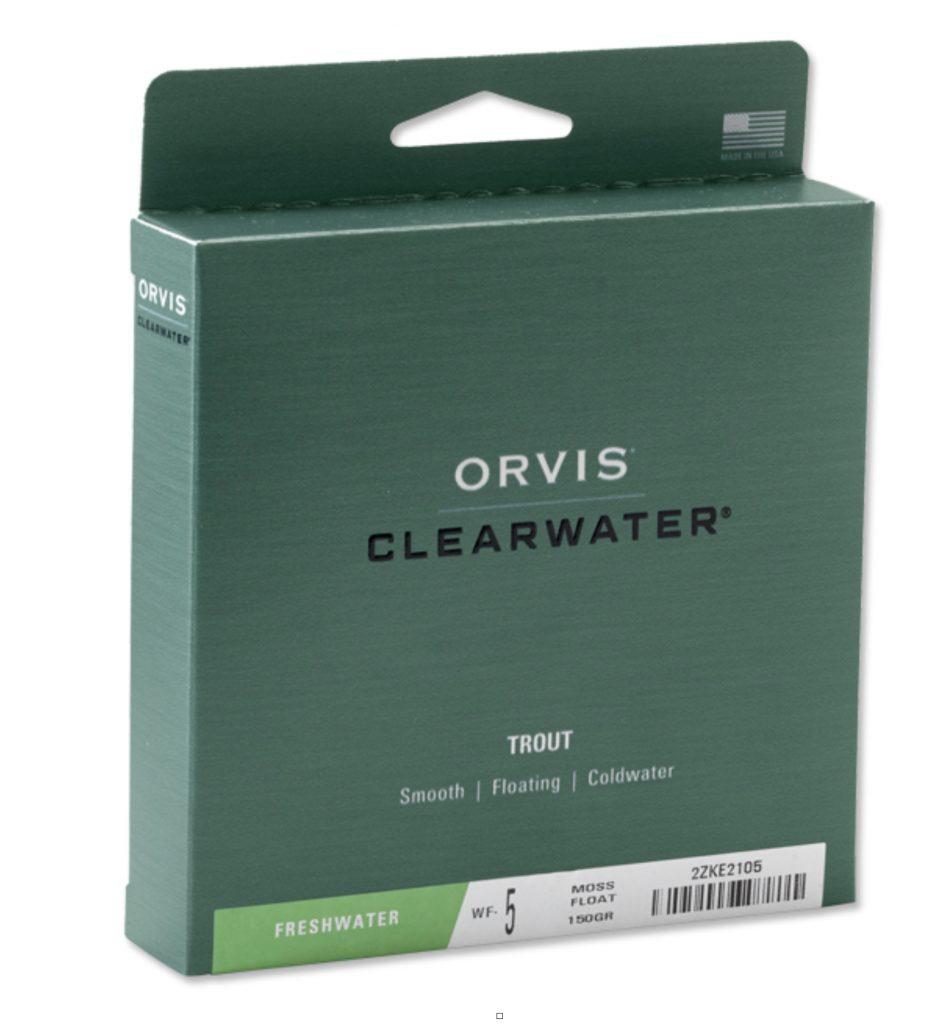 Günstig und extrem gut: die Clearwater Fliegenschnur von ORVIS.