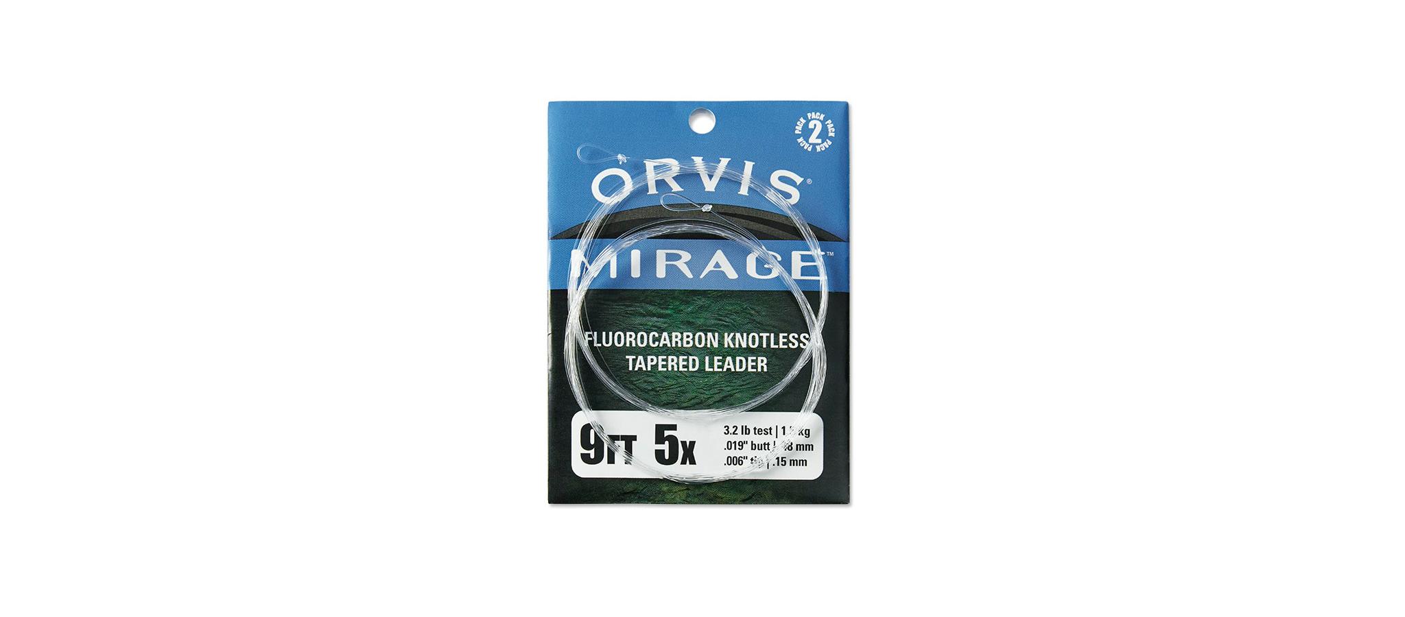 Orvis-Mirage-Fluorocarbon-Vorfach