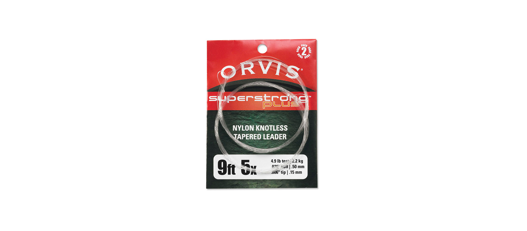 Orvis-Superstrong-Nylon-Vorfach-Verpackung