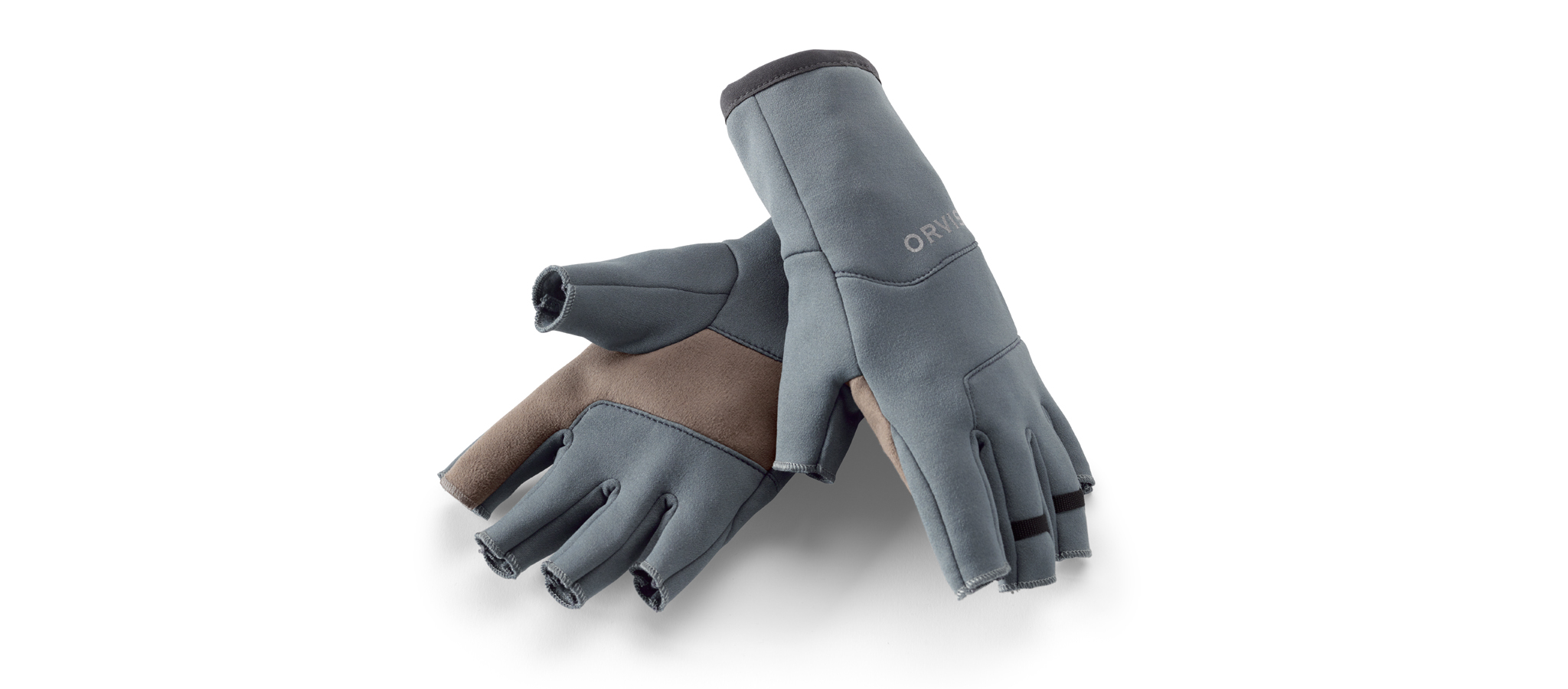ORVIS-Fingerless-Fleece-Gloves-Handschuhe