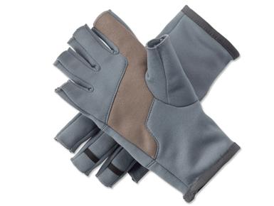 ORVIS-Handschuhe-zum-Fliegenfischen-Fingerless-Fleece-Gloves