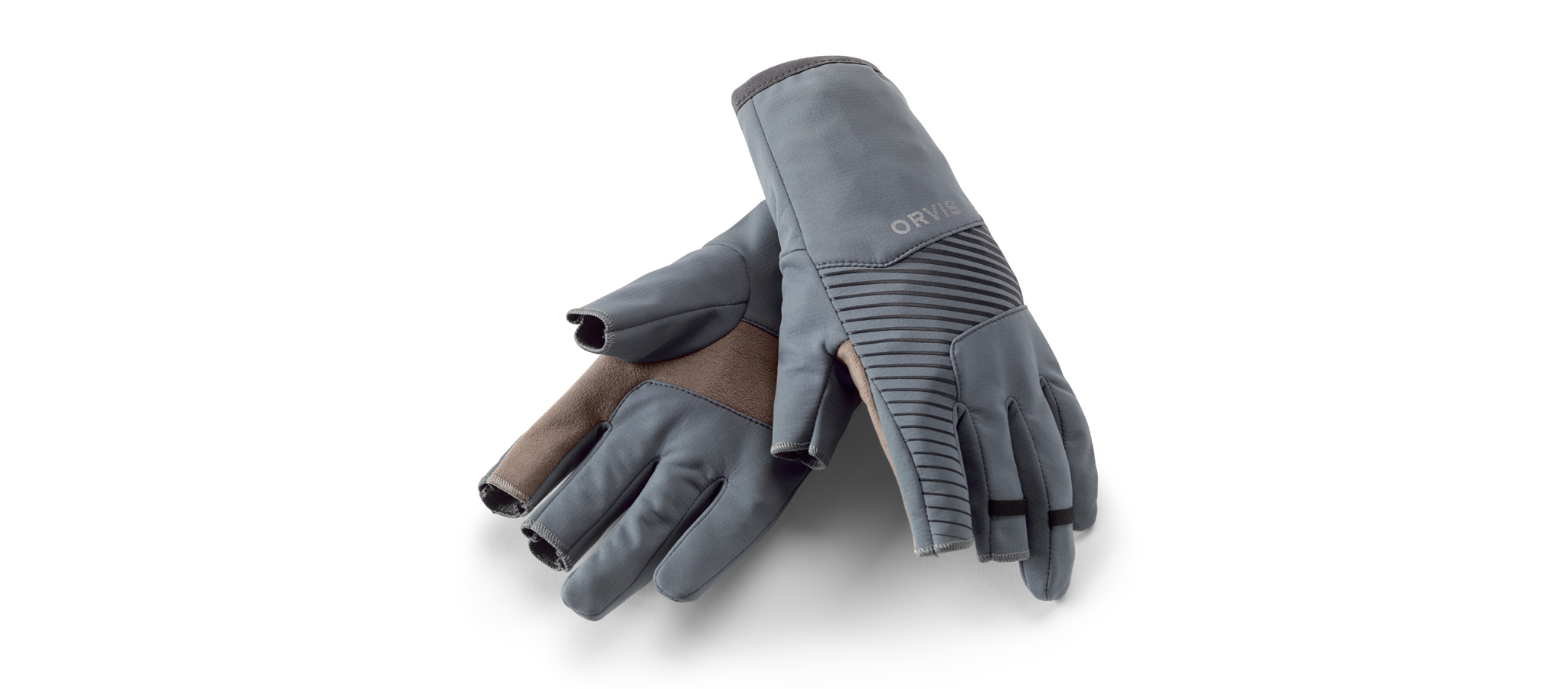 ORVIS-Softshell-Trigger-Finger-Gloves-Handschuhe
