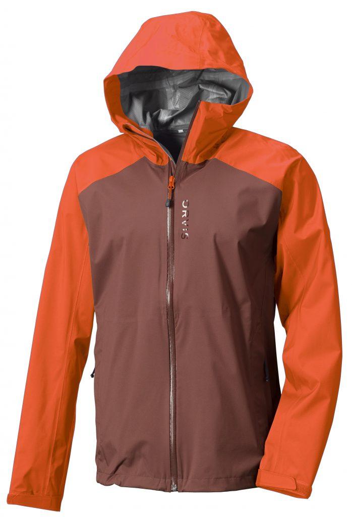 Coole Farbe: Das Ultralight Storm Jacket in der Farbe Burnt Orange.