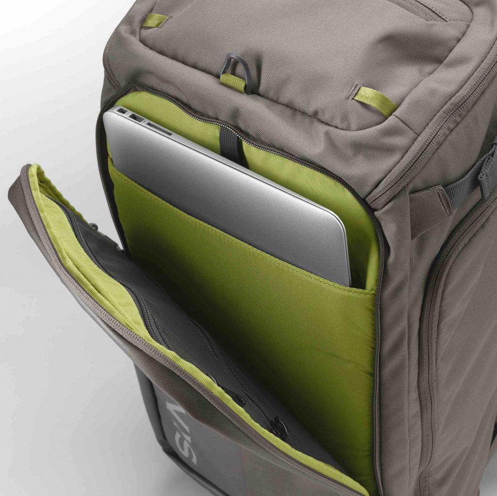 In das ORVIS Bug Out Backpack passt sogar ein Laptop. Sie können diesen Rucksack also auch fürs Büro oder auf Reisen nutzen.