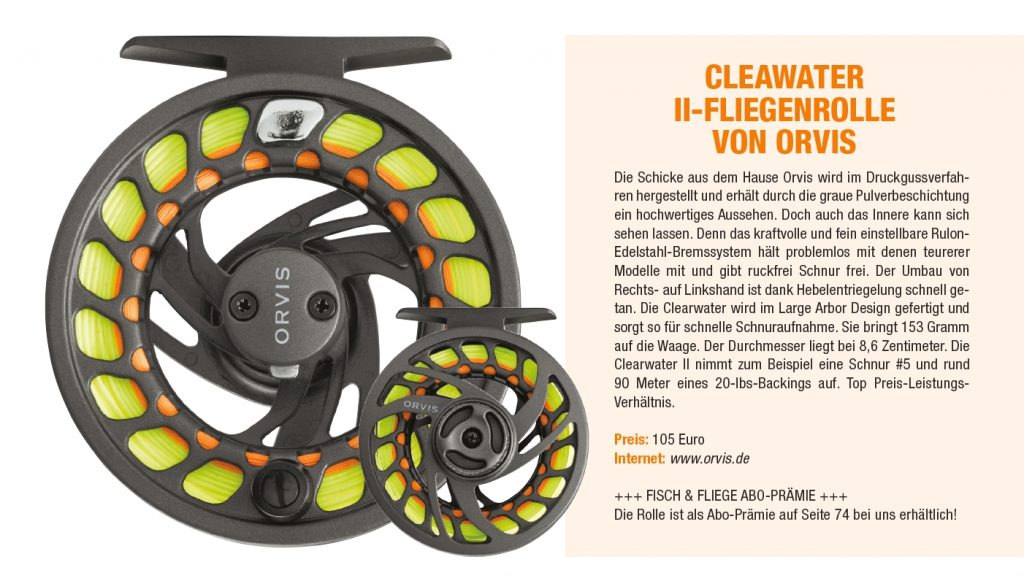 Orvis-Clearwater-Rolle-FischundFliege